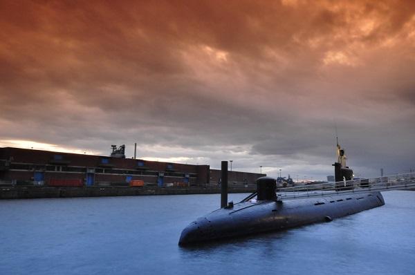 U-434 duikboot hamburg